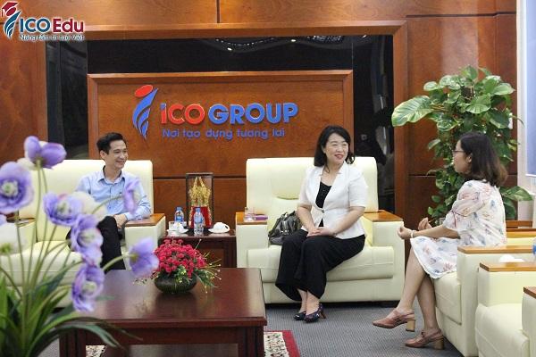 truong dai hoc cao uyen tham va lam viec voi icogroup 3