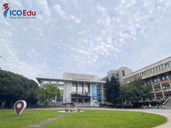 Khuôn viên xinh đẹp của Đại học Phùng Giáp, Đài Trung.
