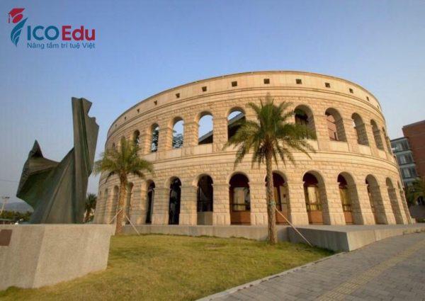 Trung tâm thể dục thể thao - Đại học Á Châu
