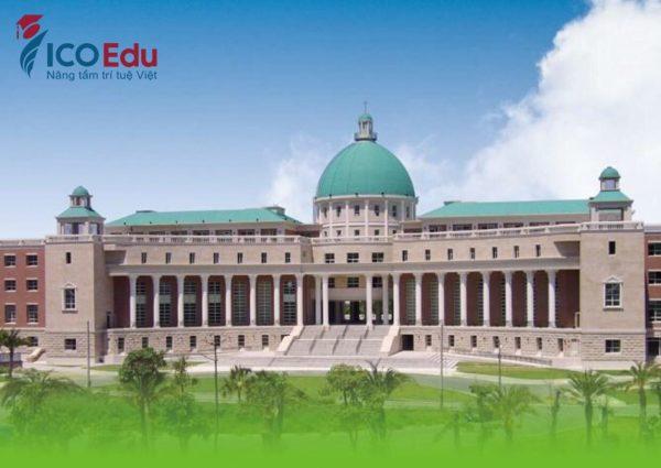 Tòa nhà Hành chính - Đại học Á Châu