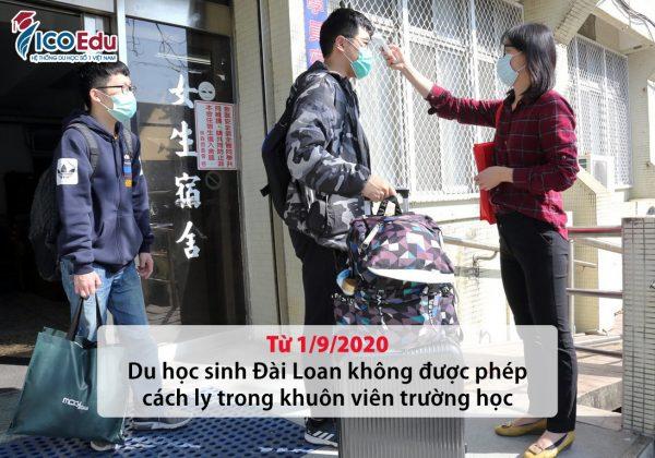 Du hoc sinh Dai Loan cach ly