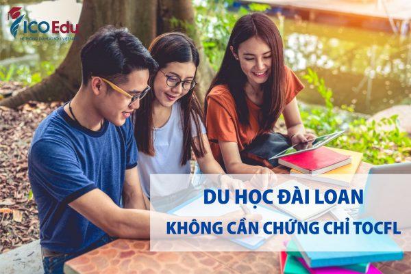 du hoc dai loan khong can chung chi tocfl