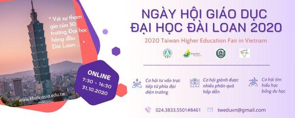 Ngày hội giáo dục Đại học Đài Loan năm 2020
