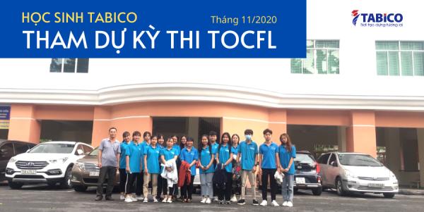 Du hoc sinh Dai Loan ICOGroup tham gia thi TOCFL