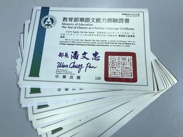 chung chi TOCFL du hoc dai loan ICOGroup